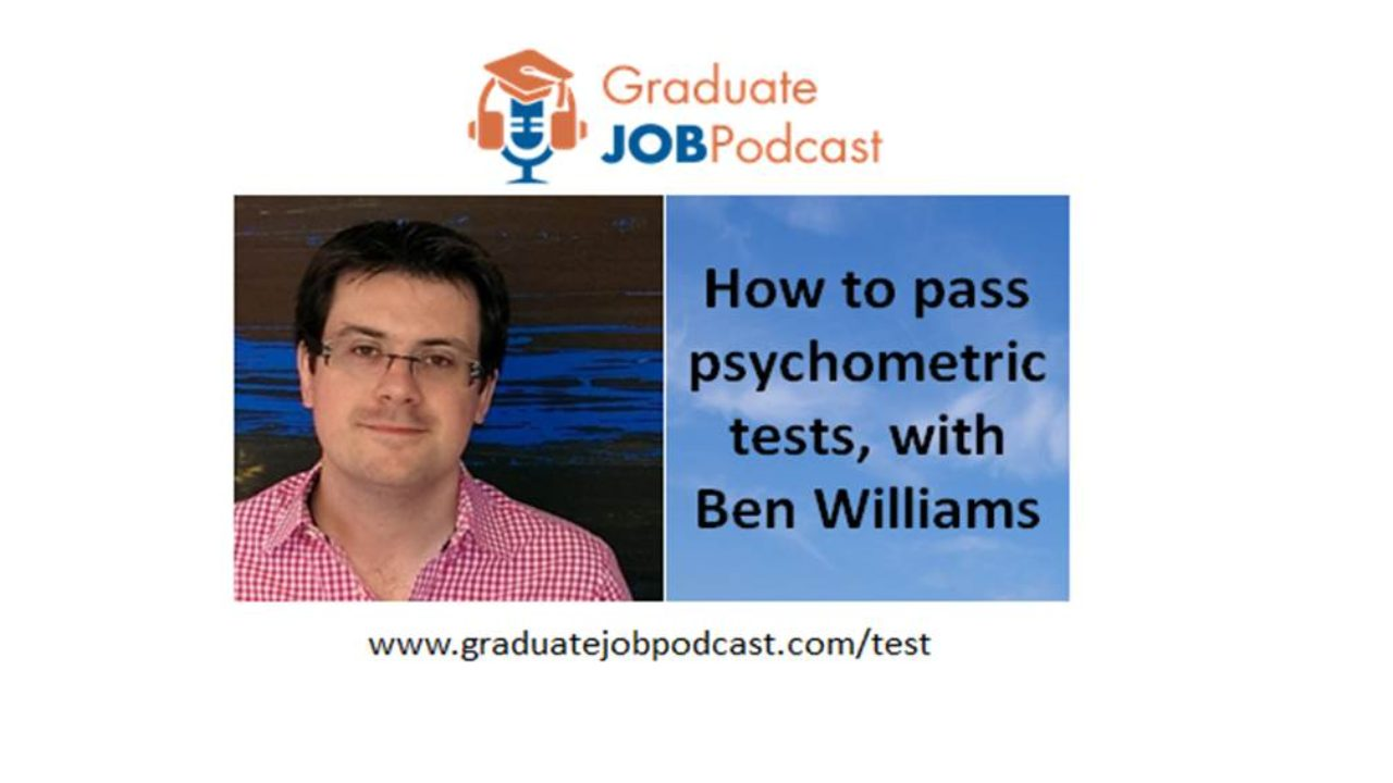 How to pass psychometric tests, with Ben Williams